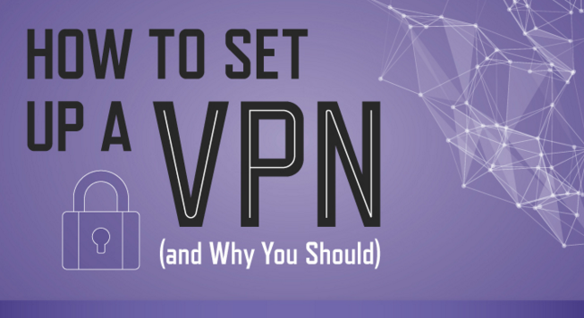 How to set up a VPN (and why you should) infographic